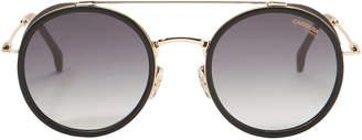 Carrera Gold Round Sunglasses