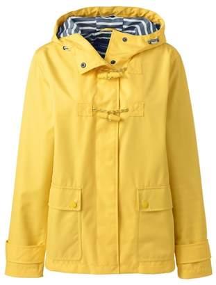 Lands' End - Yellow Duffle Rain Jacket