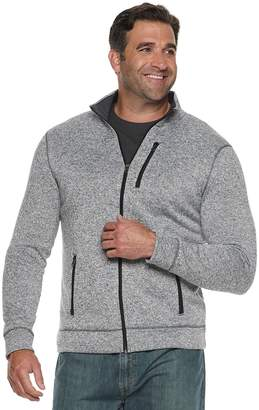Sonoma Goods For Life Big & Tall SONOMA Goods for Life Modern-Fit Supersoft Sweater Fleece Full-Zip Jacket