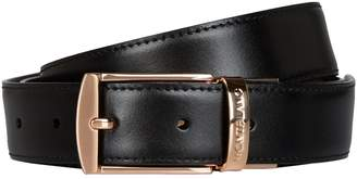 Montblanc Reversible Square Buckle Leather Belt