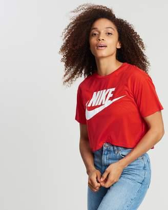 Nike Sportswear Essential Short Sleeve Crop Tee