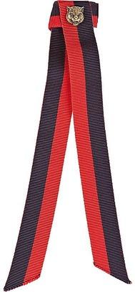 Men's Striped Grosgrain Neck Bow