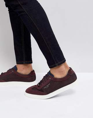 Ted Baker Phranco Suede Detail Trainers