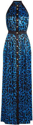 Balmain Printed Silk Gown