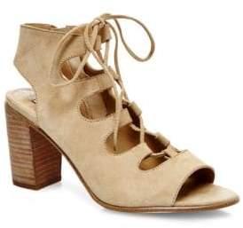 Steve Madden Nilunda Suede Lace-Up Sandals