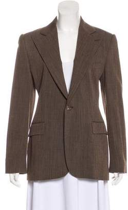 Ralph Lauren Purple Label Wool Peak-Lapel Blazer