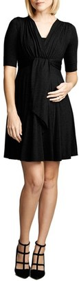 Women's Maternal America Front Tie Nursing Dress $148.80 thestylecure.com