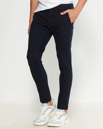 Love Moschino Flocked Slim Fit Pants