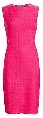 St. John Women's Box Texture Knit Sheath Dress - Size 0
