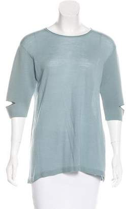 Schumacher Dorothee Short Sleeve Wool Top w/ Tags