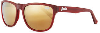 Superdry Ni Plastic Universal-Fit Square Sunglasses
