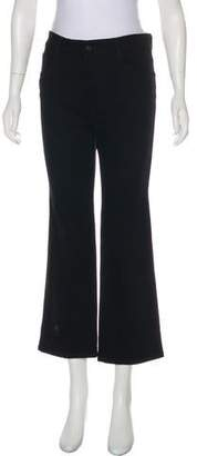 Stella McCartney Mid-Rise Cropped Jeans