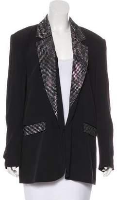 By Malene Birger Crepe Embellished Blazer