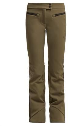 Capranea - Jet Side Striped Ski Trousers - Womens - Khaki