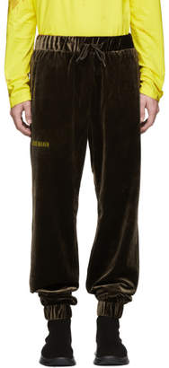 Han Kjobenhavn Brown Velvet Lounge Pants