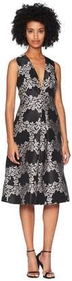 ML Monique Lhuillier Jacquard Cocktail Dress Women's Dress