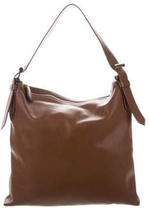 Reed Krakoff Smooth Leather Satchel Brown Smooth Leather Satchel
