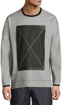 True Religion Pique X Crewneck Sweatshirt