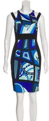 Emilio Pucci Printed Sheath Dress