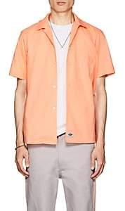 Dickies CONSTRUCT Men's Logo Cotton Poplin Workshirt - Orange