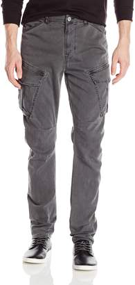 Hudson Jeans Men's Flynn Skinny Fit Cargo Pant in Loden Grey 34