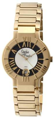 Freda Sophie And Women's SAFSF1207 Rushmore White Watch