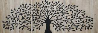 Soundslike HOME Tree Of Life Wood Panels Black