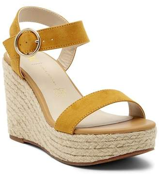 BC Footwear Board Short Wedge Platform Sandal