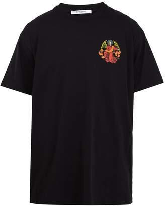 Givenchy Columbian-fit skeleton-print cotton T-shirt