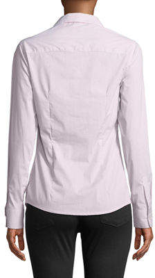 Leon Max Peter-Pan Collar Button Front Blouse