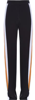 STELLA MCCARTNEY Contrast-side wide-leg trousers