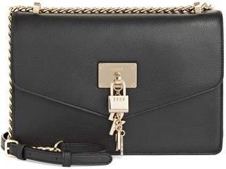 DKNY Leather Chain Crossbody Bag