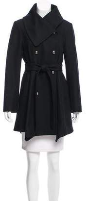 Alice + Olivia Wool Knee-Length Coat