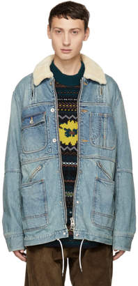 Sacai Blue Denim Jacket