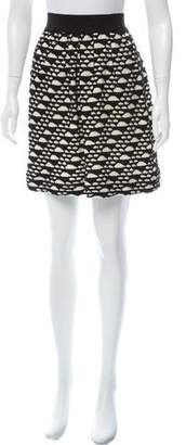 Yigal Azrouel Cut25 by Printed Mini Skirt