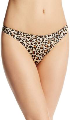 Felina The Black Bow Black Bow by Women's Rumour Smooth Thong Panty