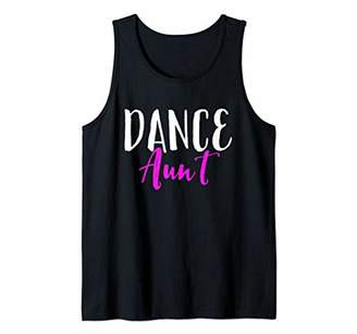 Dance Aunt Funny Gift Tank Top