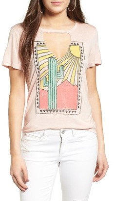 Women's Pst By Project Social T Cactus Cutout Tee $35 thestylecure.com