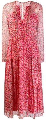 Saloni small floral print dress