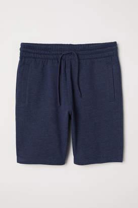 H&M Sweatshorts - Blue
