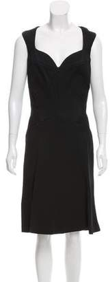Zac Posen Structured A-Line Dress