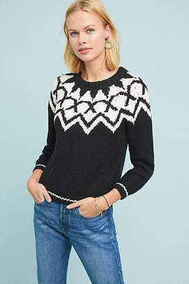 Velvet by Graham & Spencer Robyn Fair Isle Sweater