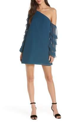 Ali & Jay Love the Way I Look Tonight One-Shoulder Minidress