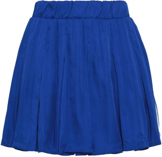 adidas Pleated Woven Mini Skirt
