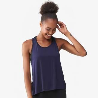 Ink Love & Peace Back Keyhole Muscle T-Shirt - Women's