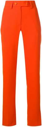 MSGM high-waisted slim-fit trousers