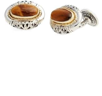 Konstantino Color Classics Oval Cuff Links