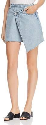 Blank NYC BLANKNYC Crossover Denim Mini Skirt