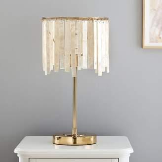 Pottery Barn Teen Capiz Strip Table Lamp