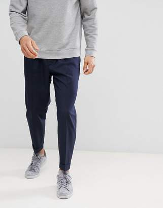 Benetton Smart Trousers With Drawstring